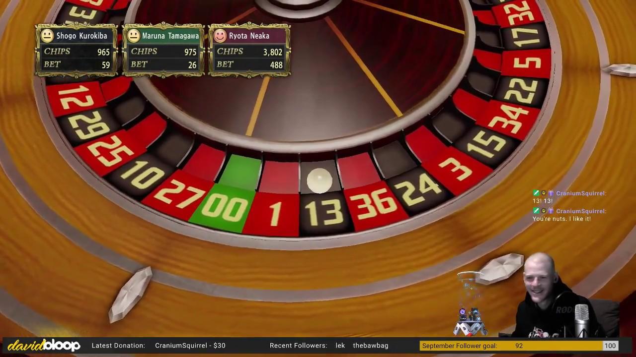 Feeding my gambling addiction in Yakuza 0