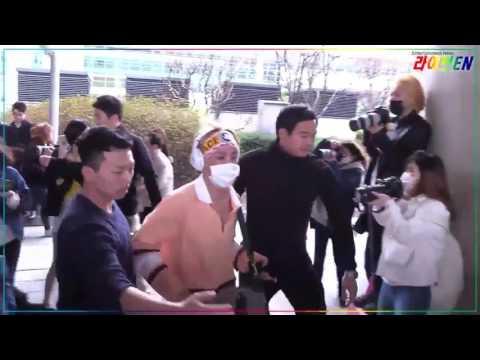 170414 BTS arrival in Incheon Airport LIVE EN Entertainment News