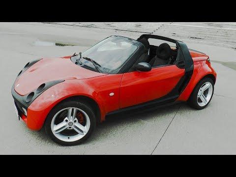 Кабриолет по цене логана. Smart Roadster.