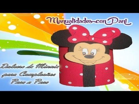 Como hacer dulcero de minnie para cumplea os muy original - Que hacer para cumpleanos infantiles ...