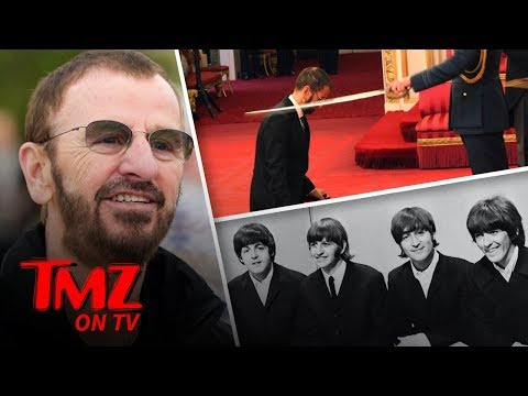 Call Him SIR Ringo Starr!  TMZ TV