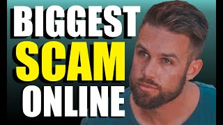 THE BIGGEST SCAM ON THE INTERNET