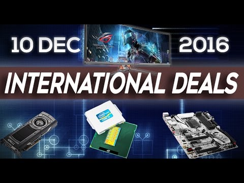 International TECH DEALS Weekly - 10th Dec 2016