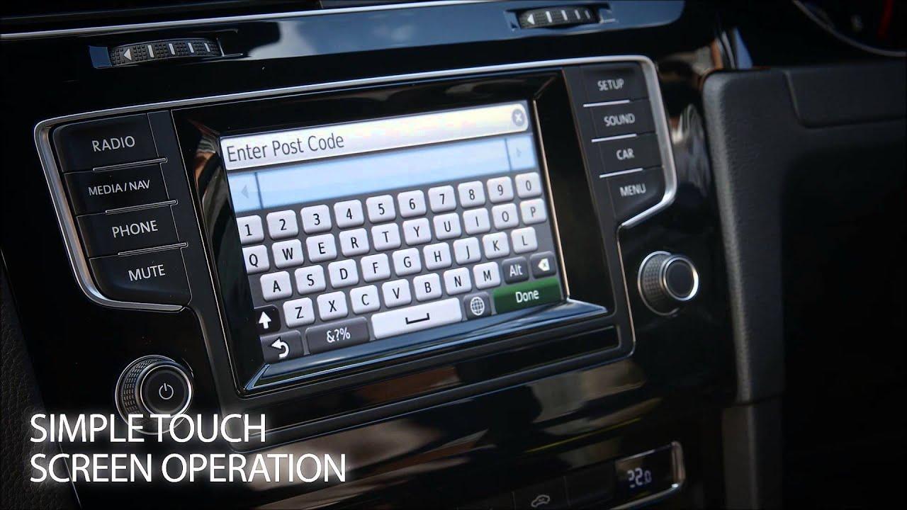 Volkswagen Kenwood MIB Nav Unit Video