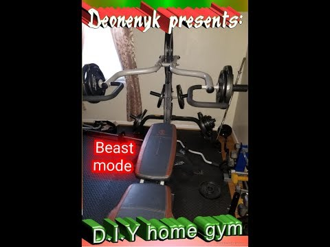 Budget home gym D.I.Y creating your home gym