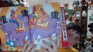 kidsongs at the circus play a song book