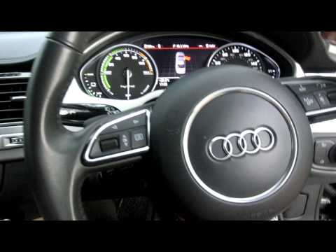2014 Audi A8 Hybrid Tangalle Cold start