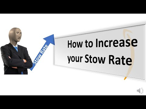 How to stow faster at Amazon