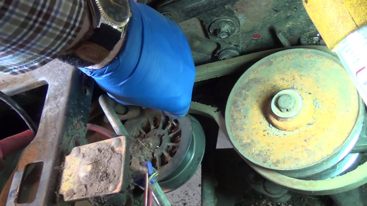 medium resolution of replacing the rear drive belt on 1997 huskee lawn tractor by mtd