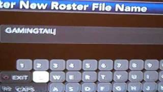 NCAA Football 11 Real Name Rosters For PS3 or Xbox 360
