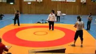 Swordfish 2009 Open Shinai Final Scott vs Hugo