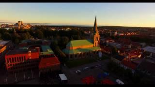 Halmstad By Night 2016 in 4K