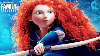 BRAVE | All Clips and Trailer Compilation for Disney family movie