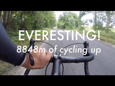 Everesting! Ascending the height of Everest in ONE ride!