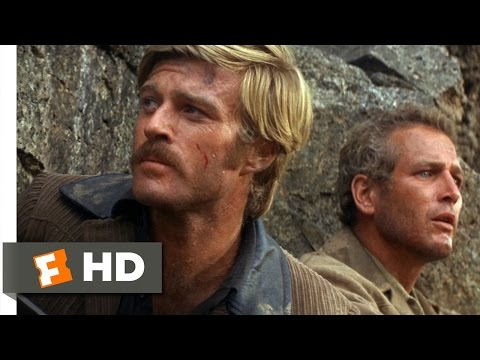 Butch Cassidy and the Sundance Kid (1969) - Off the CliffScene (3/5) | Movieclips