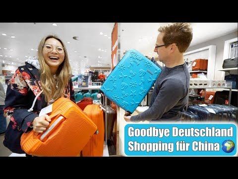 Goodbye Deutschland 🌍 Shopping für China! Asia Food Haul! Joghurt Kruste Brot backen | Mamiseelen