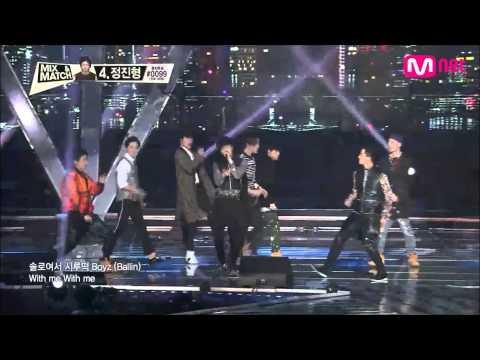 [HD] Mix & Match Ep 8 Final Match – Team A + Team B Just Another Boy Combined