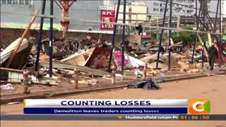 Curio shops demolished in Westlands leaving traders counting losses