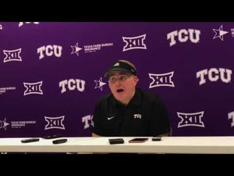 Gary Patterson post game-Arkansas