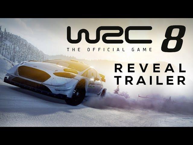WRC 8 | Reveal Trailer [ESRB]
