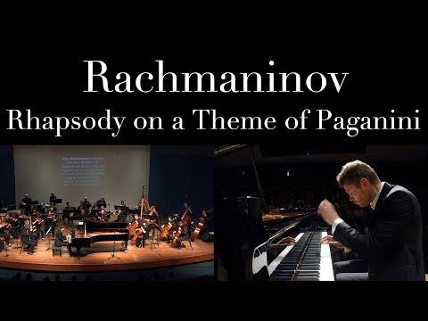 Rachmaninov Rhapsody on a Theme of Paganini. Andrey Gugnin Yaniv Dinur Israel Camerata
