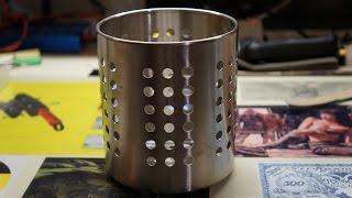 Печь щепочница своими руками из сушилки (часть 1)