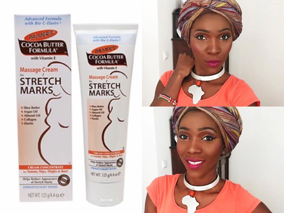 Palmer S Stretch Marks Cream As A Primer Review Demo Youtube