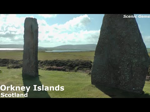 WHAT TO SEE IN Orkney Islands, Scotland, with Skara Brae, Ring of Brodgar and St Magnus in Kirkwall.