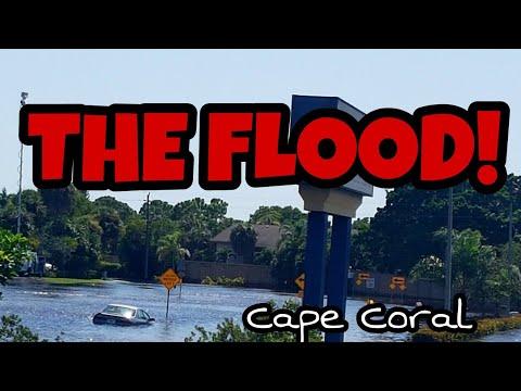 Flooding in Cape Coral  Hochwasser Flut August 27th 2017