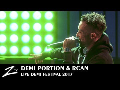 Demi Portion & R.Can - Gravé dans la Roche, Fonky Freestyle - Demi Festival 2017 - LIVE HD
