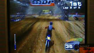 MX 2002 Featuring Ricky Carmichael PS2 125cc Supercross Race