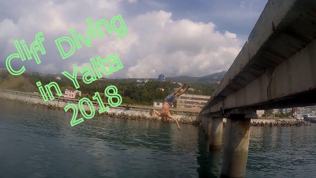 Клифф Дайвинг в Ялте 2018 часть 2 (Cliff Diving in Yalta 2018 part 2)