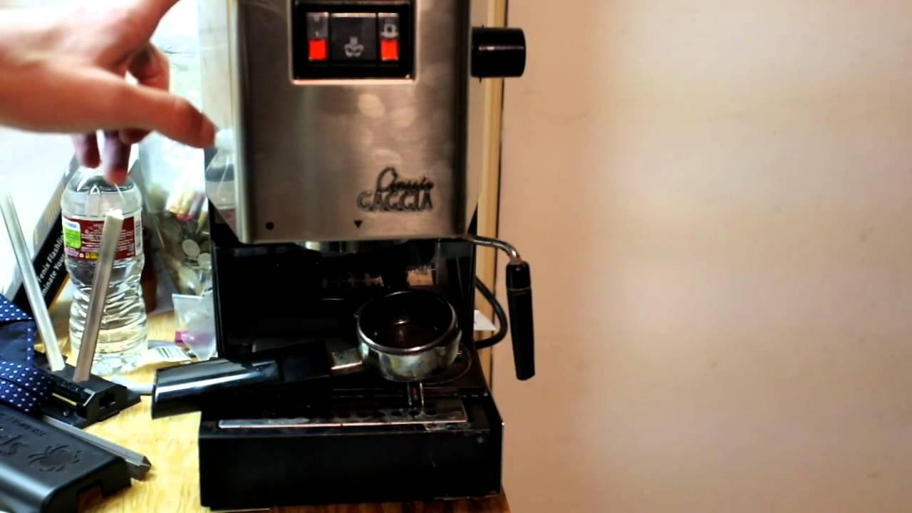 Gaggia Classic Espresso Machine Review Youtube