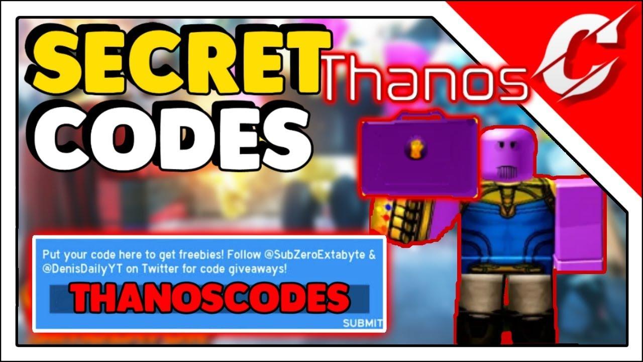 All SuperHero Simulator Release Codes 2019 | Free Thanos ...