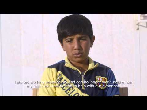 How Syrian Children Cope — Ammar Tells His Story