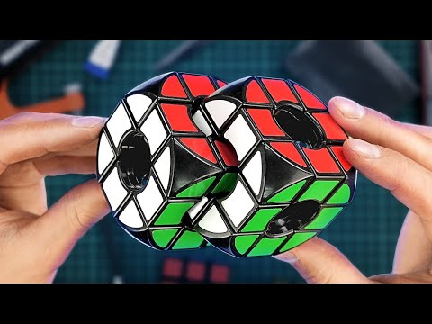 Making the impossible Rubiks CHAIN PUZZLE | DIY