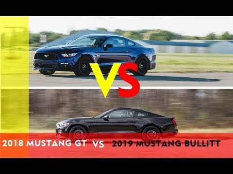 Ford Mustang GT vs   mustang Bullitt specs and features compared