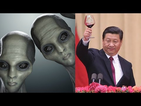China First Country Contact With Alien Life