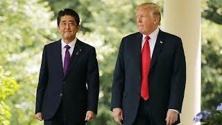 Trump, Abe hold phone talks over upcoming Hanoi summit