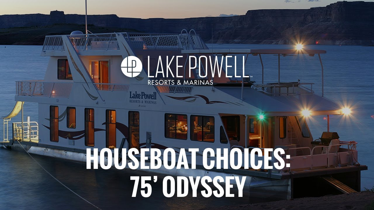Luxury Class 75 Odyssey Lake Powell Houseboat