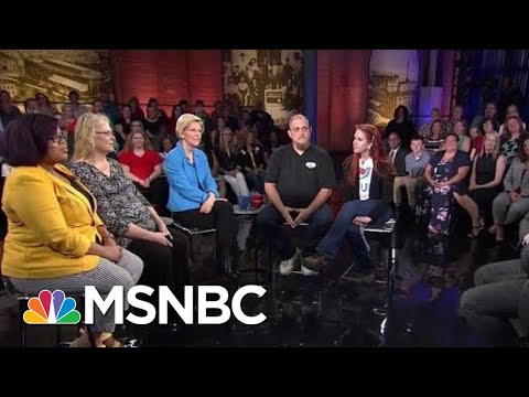 FLASHBACK: Professor Elizabeth Warren Faces Off Against Sen. Joe Biden | All In | MSNBC