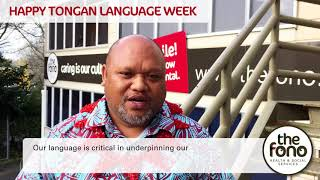 Tongan Language Week 2017 Message From CEO