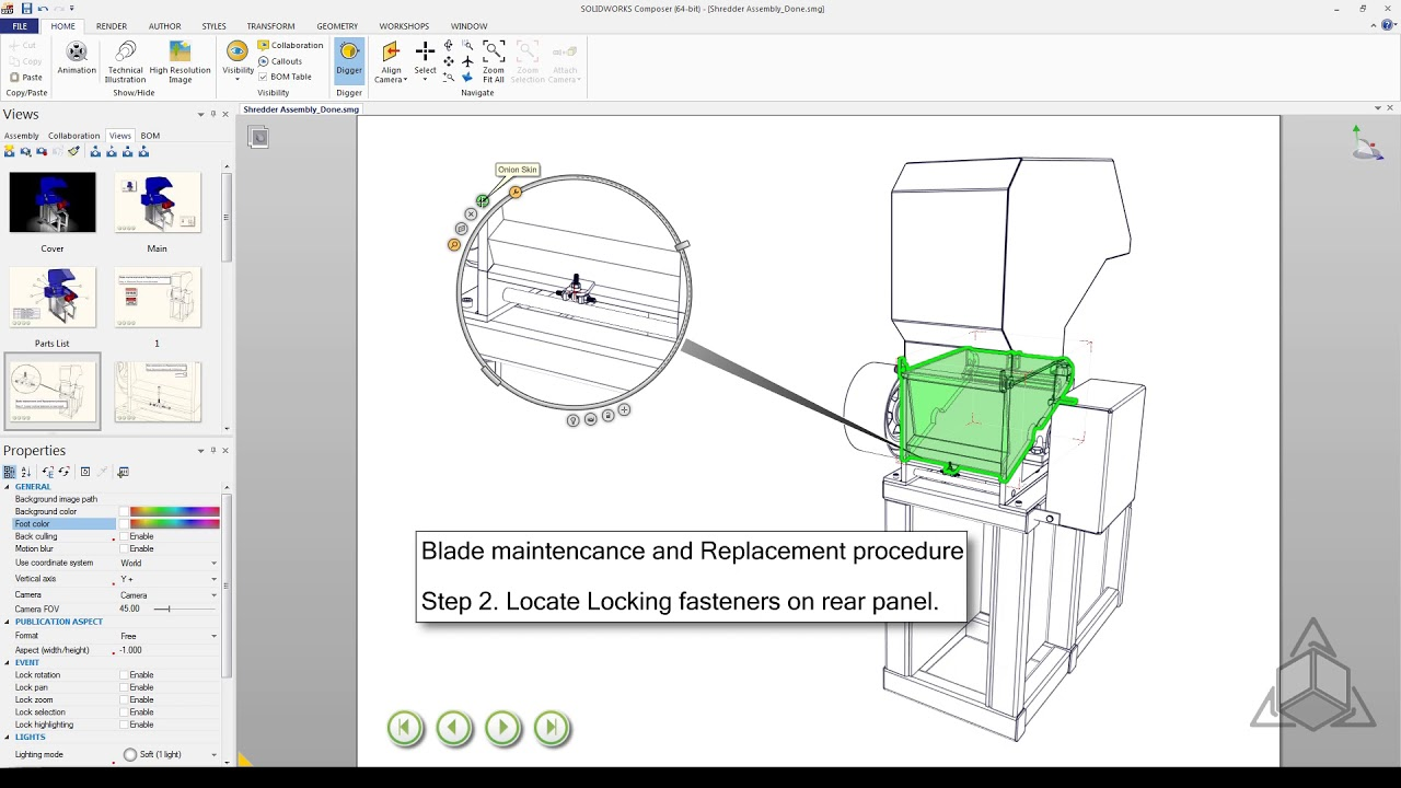 Tech Tip - SOLIDWORKS Composer Digger Tool
