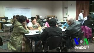 Free English learning (LVA-PW)  A Report by Rahman Bunairee, VOA Deewa Radio/TV