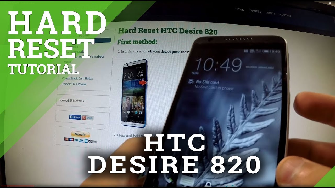 how to connect htc desire 820 to tv