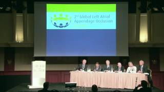 Panel Discussion II - 2nd Global Left Atrial Appendage occlusion Summit 2012