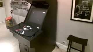 X-Arcade Machine Cabinet overview