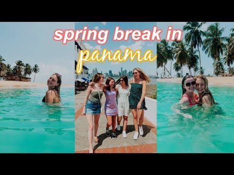 College Spring Break In PANAMA With My Roommates