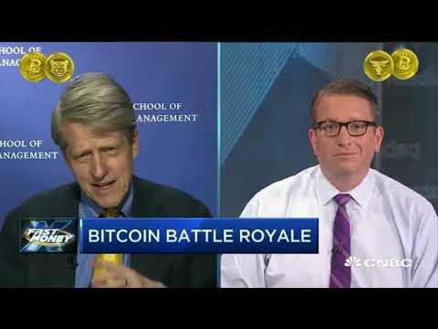 Bitcoin Showdown: Dr. Robert Shiller vs CNBC Brian Kelly