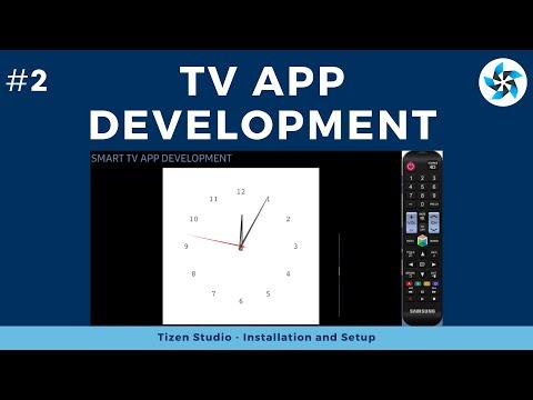 #2 Install Tizen Studio | Tizen TV App Development | Samsung | Js-spatial-navigation